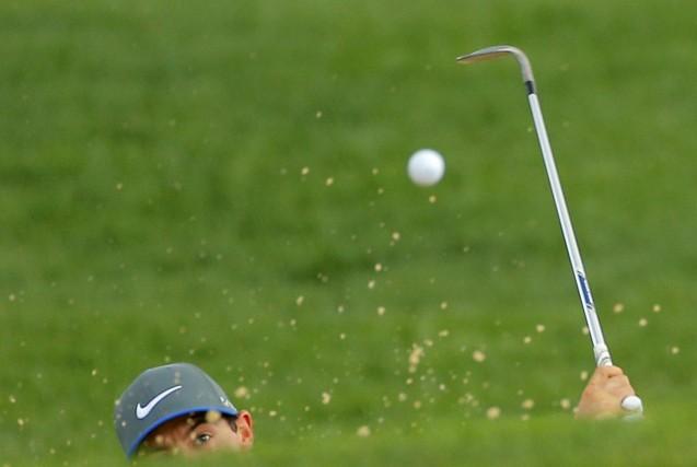 Le Championnat de la PGA pourrait devoir être complété lundi, alors que de... (Photo BRIAN SNYDER, Reuters)