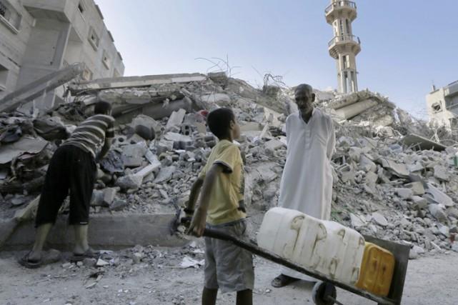 L'opération «Bordure protectrice», déclenchée par Israël pour faire... (Photo: AFP)