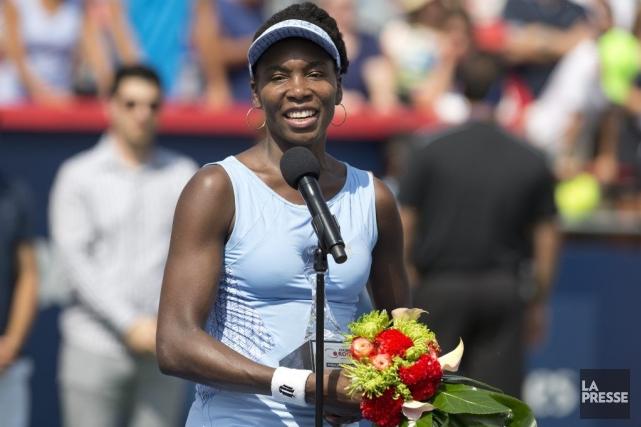 Venus Williams a été charmée par Montréal.... (PHOTO ROBERT SKINNER, LA PRESSE)
