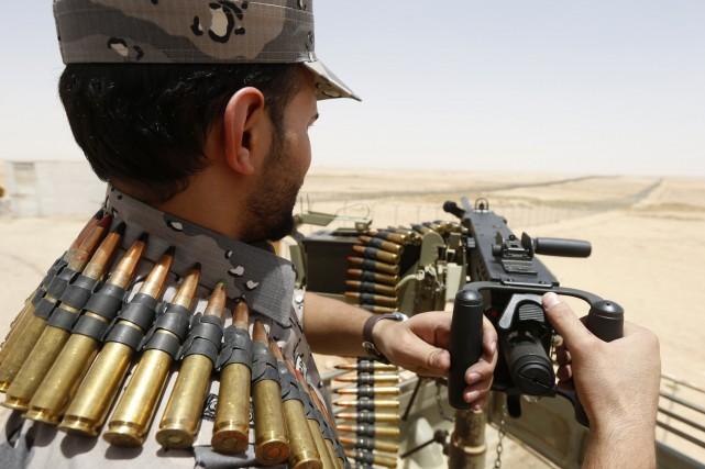 Les États-Unis livrent des armes aux peshmergas, les forces kurdes qui... (PHOTO FAISAL AL NASSER, REUTERS)