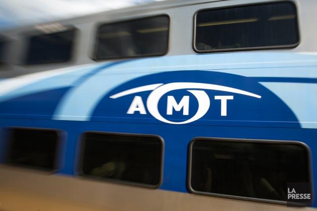 En juin 2014, l'Agence métropolitaine de transport (AMT)... (PHOTO OLIVIER PONTBRIAND, ARCHIVES LA PRESSE)