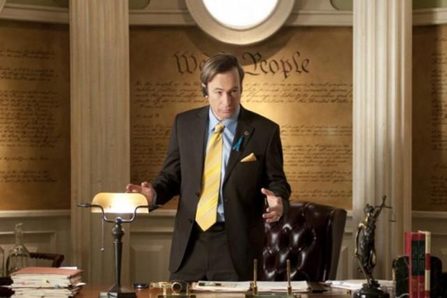 Saul Goodman (Bob Odenkirk) dans Breaking Bad.... (Photo: fournie par la production)