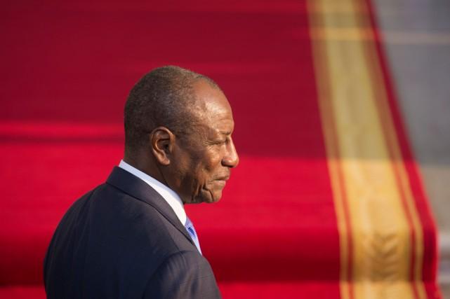 Le président guinéen, dont le pays est l'un des plus durement touchés par... (PHOTO BRENDAN SMIALOWSKI, ARCHIVES AGENCE FRANCE-PRESSE)