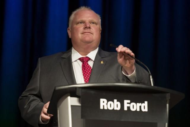 Rob Ford a dit qu'il n'avait pas été... (Archives PC)
