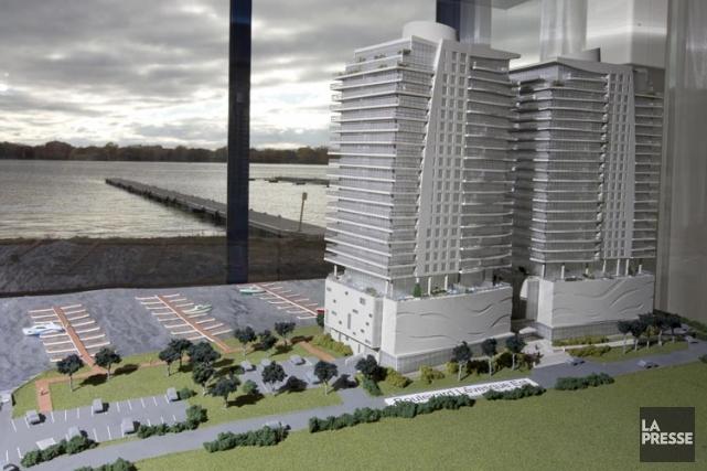 C'est la mention du projet Le Commodore à... (Photo: Alain Roberge, archives La Presse)