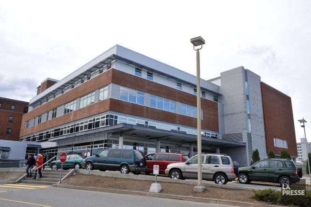 Un secteur du centre hospitalier de Trois-Rivières a... (Photo: Stéphane Lessard)