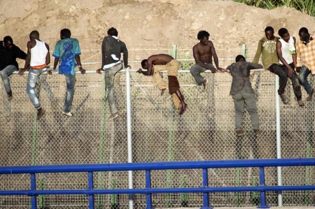 Une trentaine d'entre eux «a réussi à accéder... (Photo REUTERS)