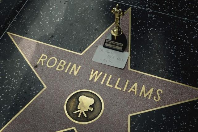 L'acteur américain Robin Williams, décédé lundi à l'âge de 63 ans, a commencé... (Photo: AFP)