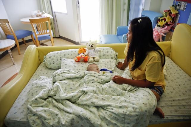 Gammy, sept mois, est au coeur d'un scandale... (Photo DAMIR SAGOLJ, Reuters)