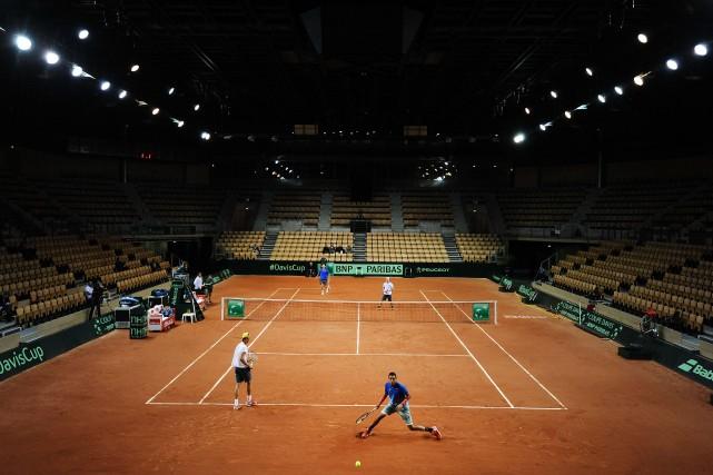 La Fédération internationale de tennis (ITF) a maintenu sa décision de déplacer... (Photo archives AFP)