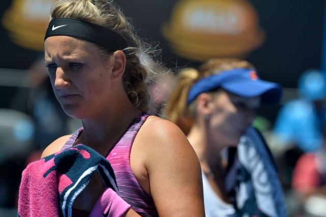 Victoria Azarenka... (Photo archives AFP)
