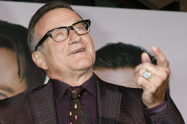Robin Williams à la première du film Old... (Photo: archives Reuters)