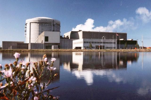 La centrale de Point Lepreau, au Nouveau-Brunswick.... (Photo Archives PC)