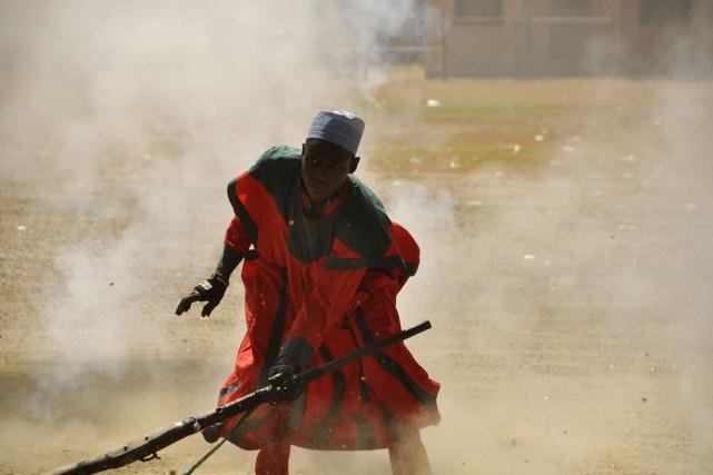 «On donne toujours à nos maris des armes... (Photo REUTERS)