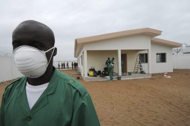L'épidémie d'Ebola, la plus grave depuis l'apparition de... (Photo AFP)
