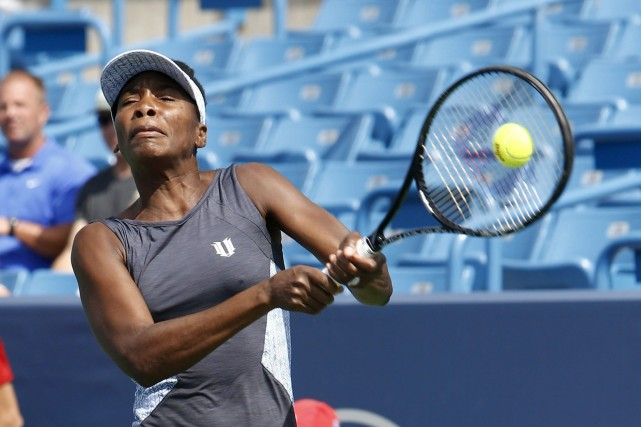 Venus Williams... (Photo David Kohl, AP)