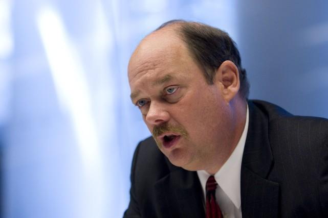 Thomas Kloet devait prendre sa retraite le 31... (Photo ANDREW HARRER, Archives Bloomberg)