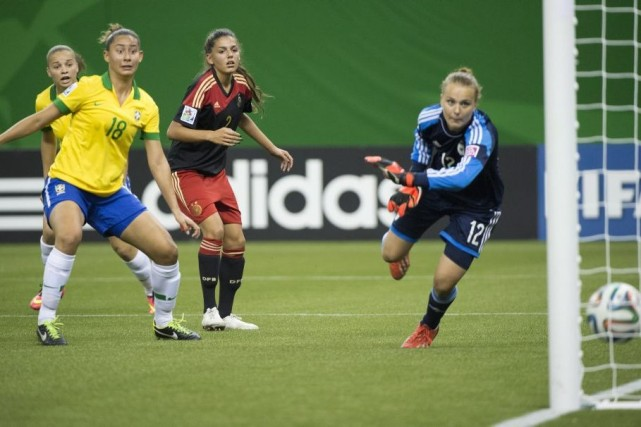 Alors que le Mondial féminin U-20 bat son... (Photo La Presse Canadienne)