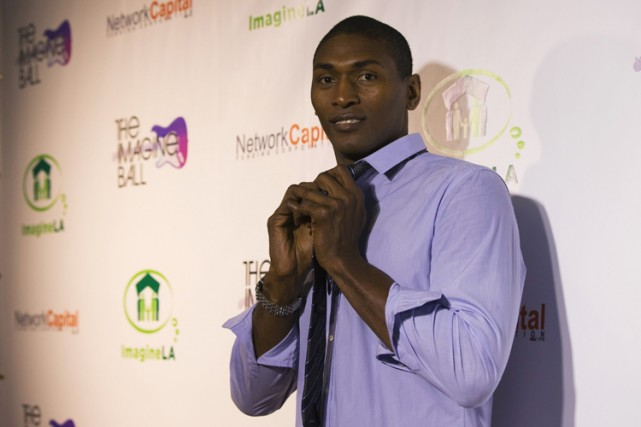 Ron Artest, son nom de naissance, est l'un... (Photo: Reuters)