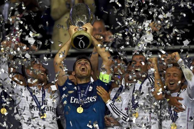 Le Real Madrid et ses vedettes James Rodriguez, Toni Kroos, Karim Benzema,... (Photo: Reuters)