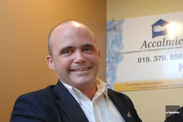 Patrice Larin, directeur général de l'Accalmie.... (Photo: Archives Le Nouvelliste)