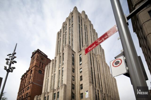 Le 507, place d'Armes à Montréal, communément appelé... (PHOTO SARAH MONGEAU-BIRKETT, LA PRESSE)