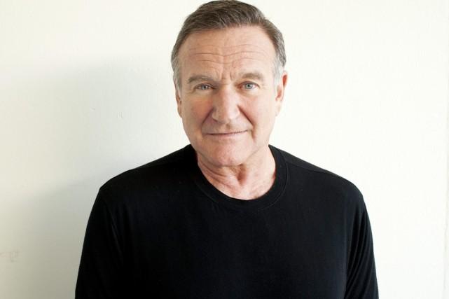 Robin Williams photographié à l'occasion d'un événement médiatique... (Photo: archives AP)