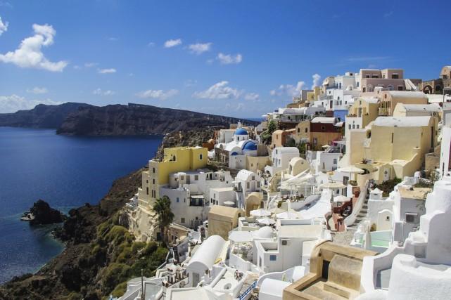 Entre les populaires Mykonos et Santorin, les passagers... (Photo Digital/Thinkstock)