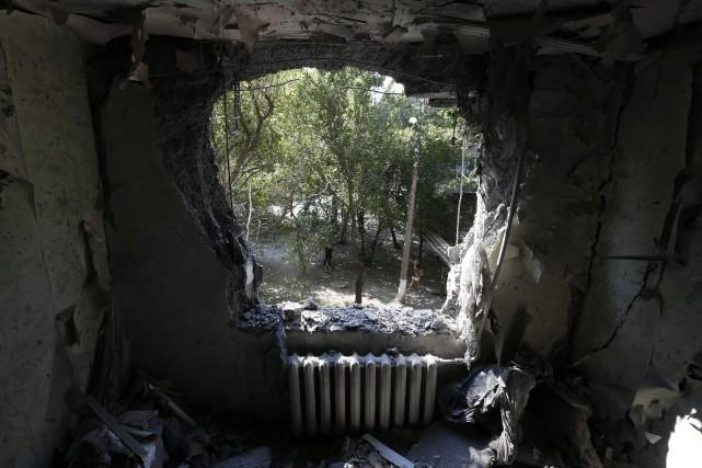 Le nombre de morts dans le conflit dans l'est de l'Ukraine a été multiplié par... (Photo SERGEI KARPUKHIN, Reuters)