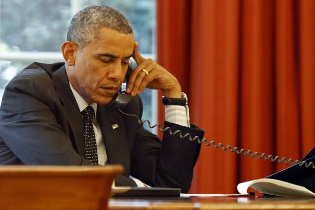 Contrairement à ses deux prédécesseurs, «Barack Obama n'a... (PHOTO Larry Downing, ARCHIVES REUTERS)