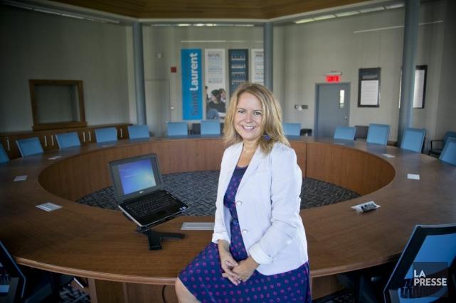 Nancy Laflamme, responsable du développement de programmes au... (PHOTO DAVID BOILY, LA PRESSE)
