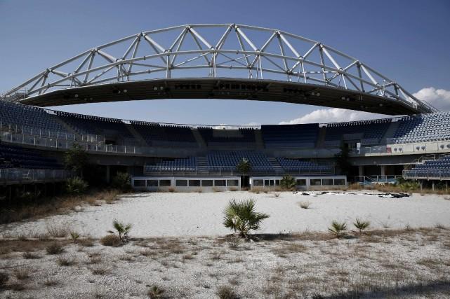 Ce stade abandonné avait accueilli les compétitions de... (Photo Yorgos Karahalis, Reuters)