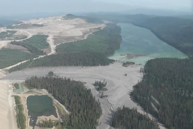 La communauté autochtone dit s'opposer à la mine... (Photo Reuters)