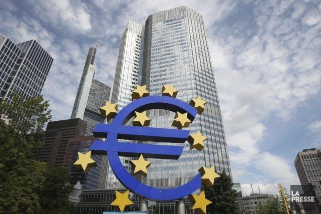 Le Produit intérieur brut de la zone euro... (PHOTO DANIEL ROLAND, AFP)
