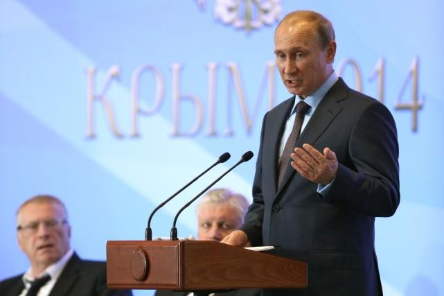 La Russie est prête à faire tout son... (Photo Sergei Chirikov, AP)