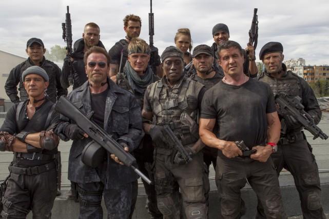 Expendables 3 a déçu. Le film a amassé... (Photo: fournie par Lionsgate)
