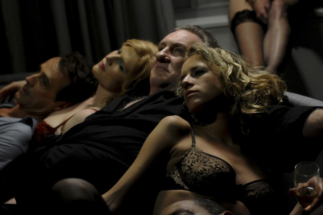 Gérard Depardieu dans Welcome to New York.... (Photo: fournie par Remstar)
