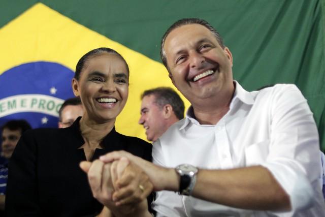 Marina Silva (à gauche) pourrait remplacer lecandidat socialiste... (Photo Ueslei Marcelino, Reuters)