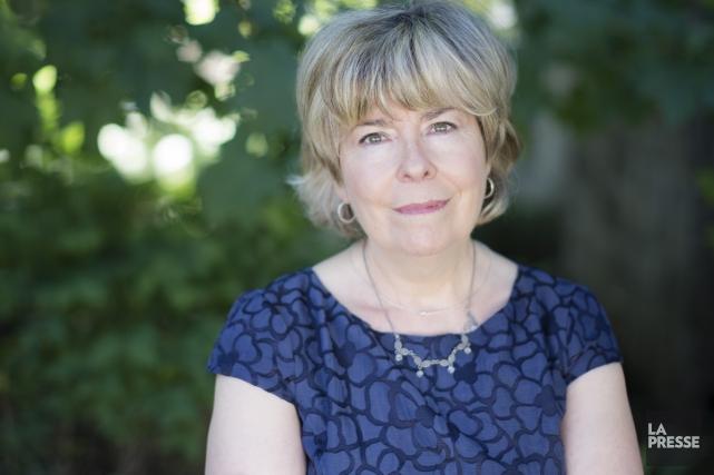 Suzanne Aubry a complété sa saga historique Fanette,... (Photo: Édouard Plante-Fréchette, La Presse)