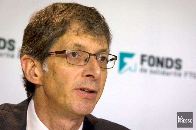 Gaétan Morin, président et chef de la direction... (Photothèque La Presse)