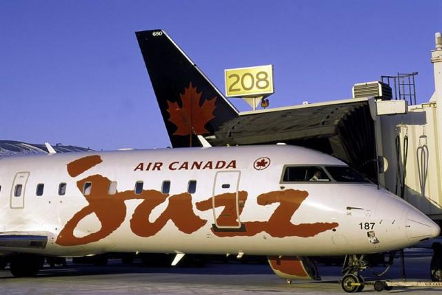 Chorus Aviationexploite des vols pour Air Canada sous... (Photo fournie par Bombardier)