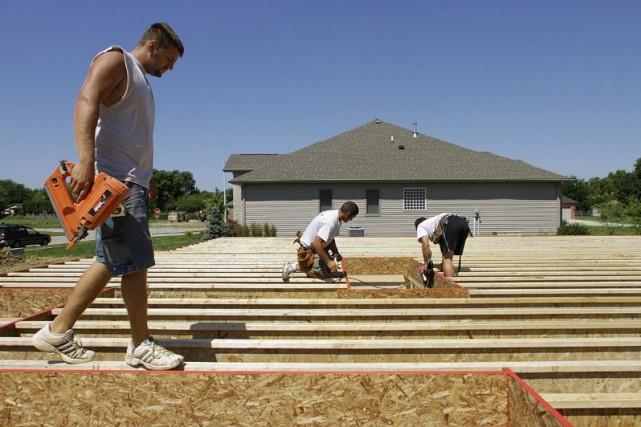 L'indice des prix des logements neufs de Statistique Canada a progressé de 0,2... (Photo Seth Perlman, Archives Associated Press)