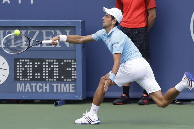 Novak Djokovic... (Photo Al Behrman, AP)