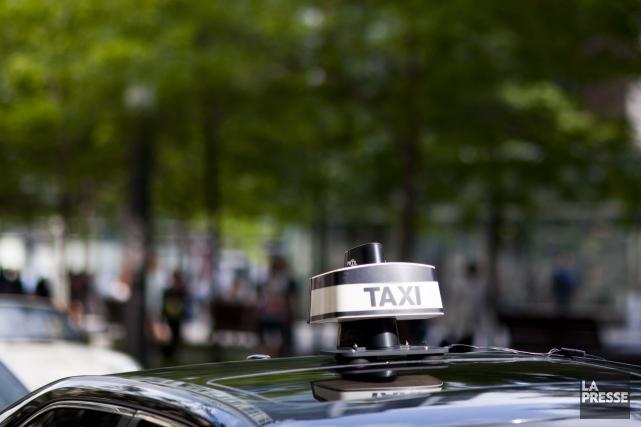 L'un des plus gros joueurs de l'industrie du taxi à Montréal, Taxi Diamond,... (PHOTO SARAH MONGEAU-BIRKETT, ARCHIVES LA PRESSE)
