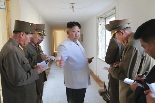 Dans un court communiqué, l'agence officielle KCNA indique... (Photo Reuters)