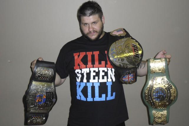 Le lutteur québécois Kevin Steen... (Photo archives Patric Laprade, collaboration spéciale)