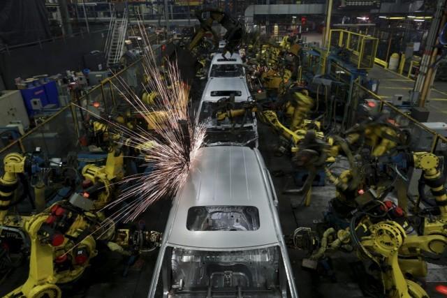 L'activité manufacturière de la région de New York a continué de progressé en... (PHOTO LUKE SHARRETT, BLOOMBERG)