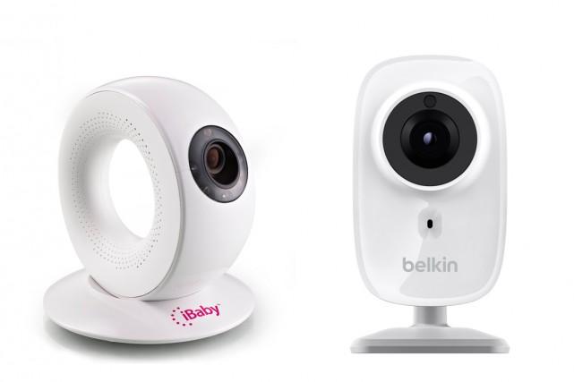 La caméra la plus simple à installer pour... (Photos fournies par ibaby et Belkin)