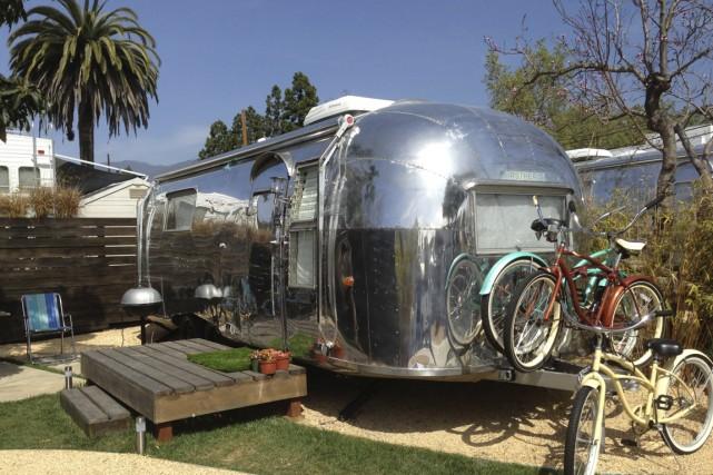 Si vous voulez vivre le rêve Airstream pour une nuit, sachez que de nombreux... (Photo fournie par Santa Barbara Auto Camp)