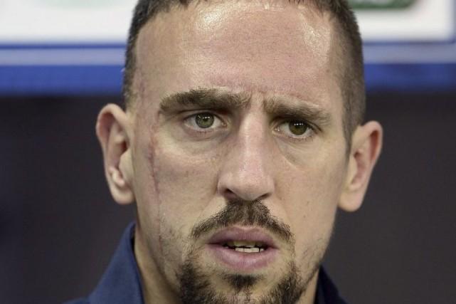 Franck Ribéry est revenu de la tournée du... (PHOTO FRANCK FIFE, ARCHIVES AFP)